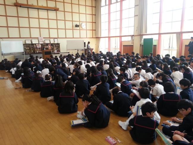 5.21 秋田大学教育文化学部附属小学校にて夢授業を行いました