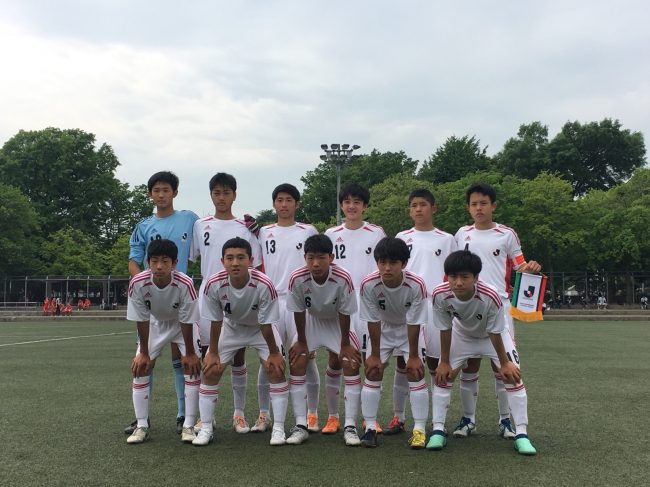 U-14 Jリーグ選抜2018東京国際ユ...