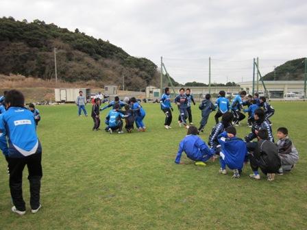 触れ合いサッカー交流会2