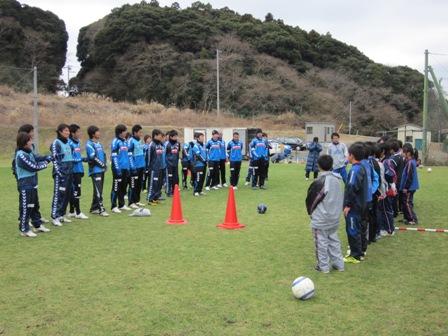 触れ合いサッカー交流会1