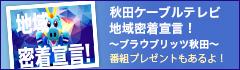 地域密着宣言!〜ブラウブリッツ秋田〜